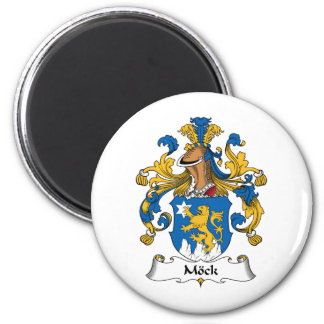 Mock Family Crest Refrigerator Magnets
