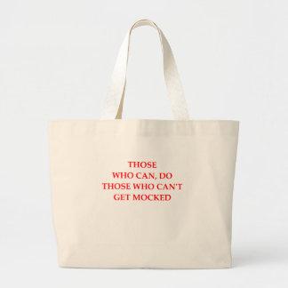 mock large tote bag