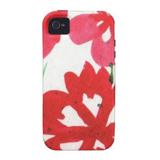 Mock Marimekko Flowers iPhone 4/4S Cover