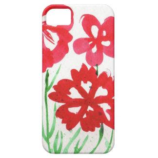 Mock Marimekko Flowers iPhone SE/5/5s Case