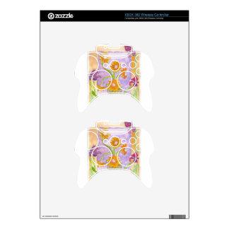 Mock Van Gogh Sunflowers & Irises Xbox 360 Controller Decal