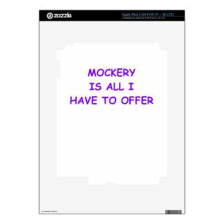 MOCKERY iPad 3 DECAL