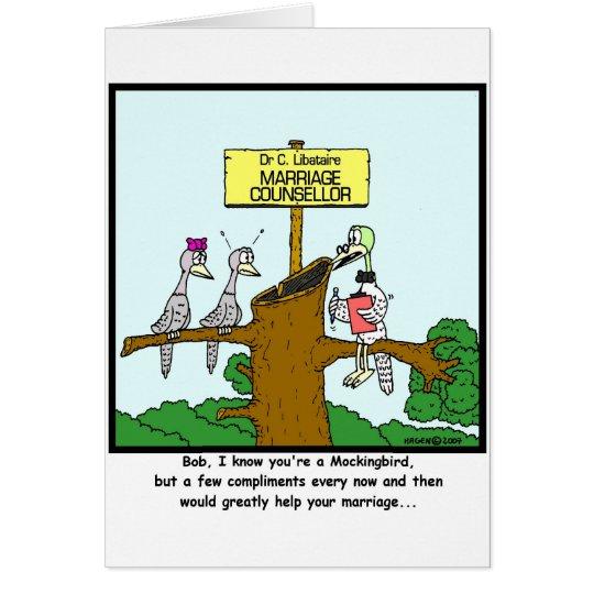 Mocking Bird Card