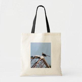Mocking Bird On Tree Canvas Bag