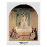 Mocking Of Christ. By Fra Angelico Posters