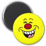 Mocking Smiley Face Smiley Magnet