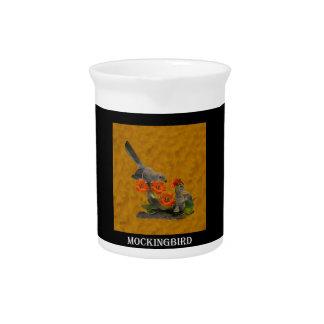 Mockingbird (Arkansas, Florida, Mississippi,Texas) Drink Pitcher