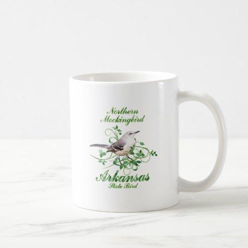 Mockingbird Arkansas State Bird Mug