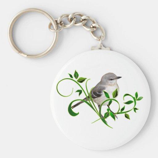 Mockingbird Beauty Key Chains