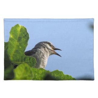 Mockingbird bonito mantel individual