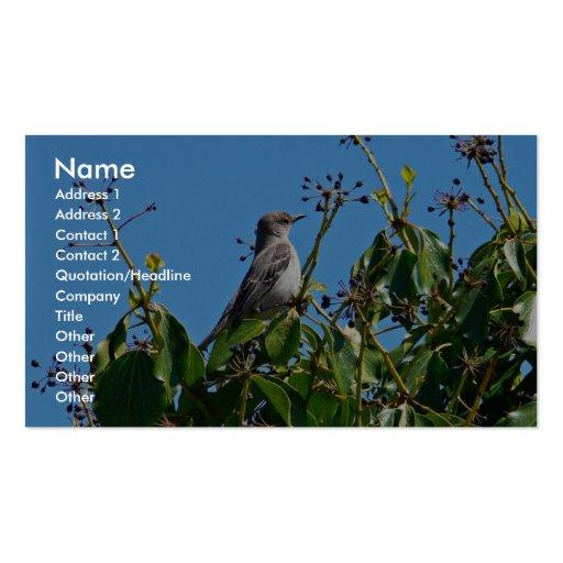 Mockingbird Business Cards