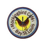"""mockingbird cafe"" Clock"
