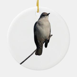 Mockingbird Ceramic Ornament