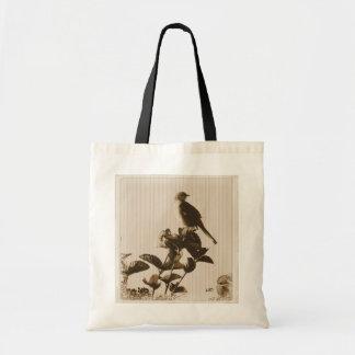 Mockingbird del vintage bolsa tela barata
