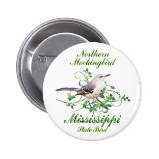 Mockingbird Mississippi State Bird Pins