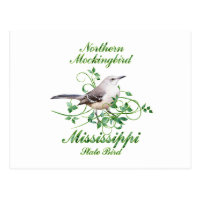 Mockingbird Mississippi State Bird