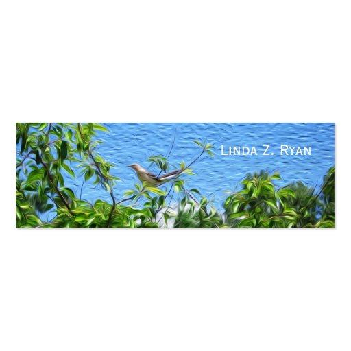 Mockingbird on a Limb Business Card Templates