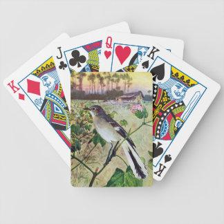Mockingbird septentrional cartas de juego