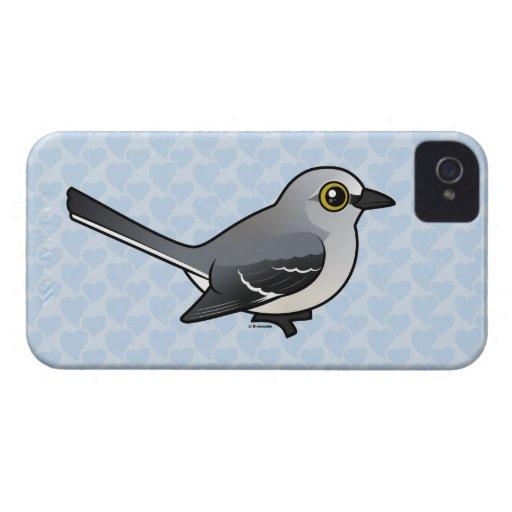 Mockingbird septentrional de Birdorable Case-Mate iPhone 4 Funda
