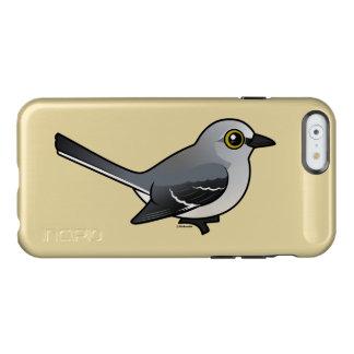 Mockingbird septentrional de Birdorable Funda Para iPhone 6 Plus Incipio Feather Shine
