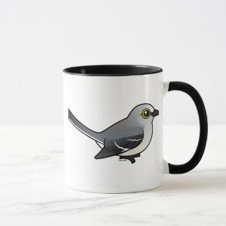 Mockingbird septentrional de Birdorable Taza