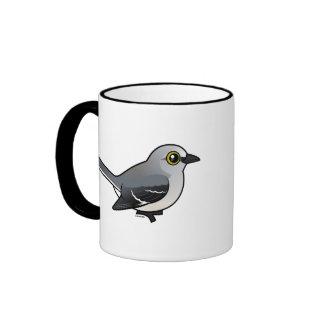 Mockingbird septentrional de Birdorable Tazas