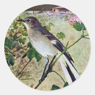 Mockingbird septentrional pegatina