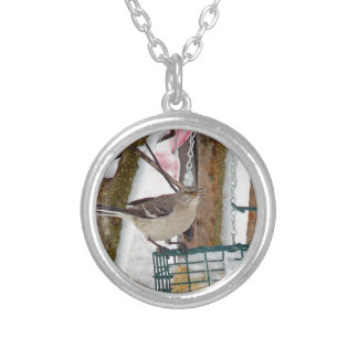 Mockingbird Silver Plated Necklace