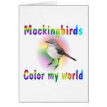 Mockingbirds Color My World Cards