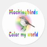 Mockingbirds Color My World Stickers