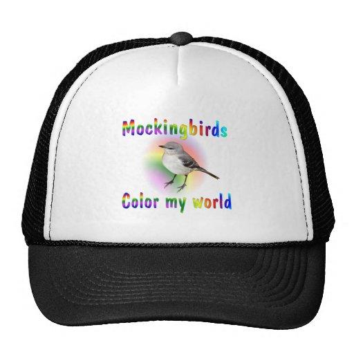 Mockingbirds Color My World Trucker Hat