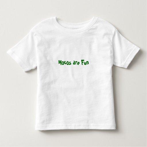 Mocos es diversión camisas