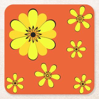 MOD 60's Flower Power Coaster