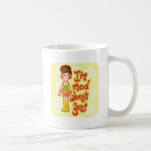 Mod About You Girl Coffee Mug