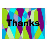 Mod Abstract Greeting Card