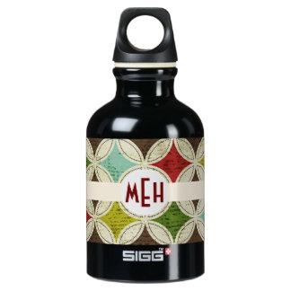 Mod Abstract Monogram Aluminum SIGG Traveler 0.3L Water Bottle