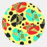 Mod Abstract Sticker