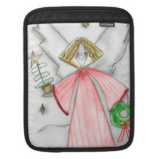 Mod Angel in Red iPad Sleeve