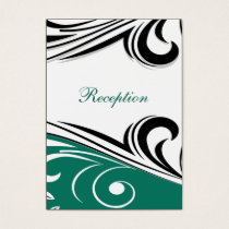 mod aqua Reception   Cards