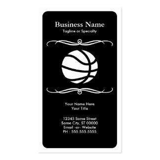 mod basketball business card templates