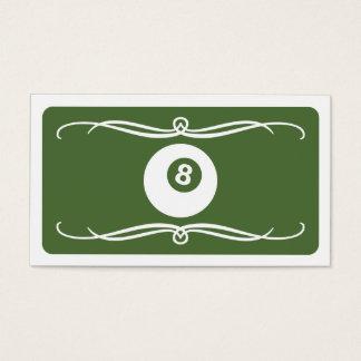 mod billiard (color customizable) business card
