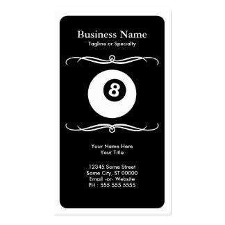 mod billiards business card templates