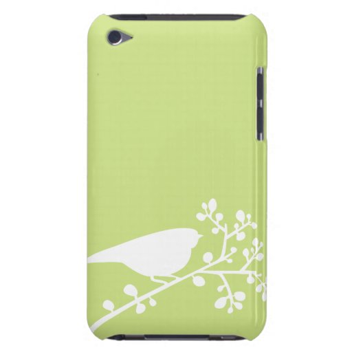 Mod Birds and Berries {pick your color} Barely There iPod Cases