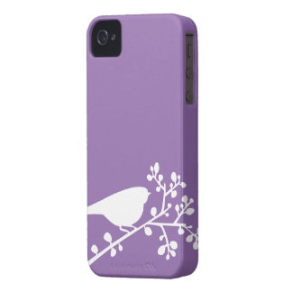 Mod Birds and Berries {pick your color} iPhone 4 Case-Mate Case