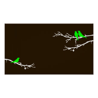 mod birds posters