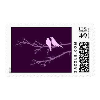 mod birds stamp