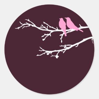 mod birds sticker
