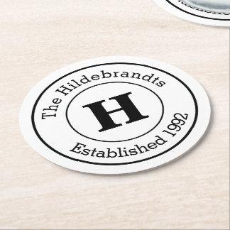 Paper Coasters & Drink Coaster Designs | Zazzle