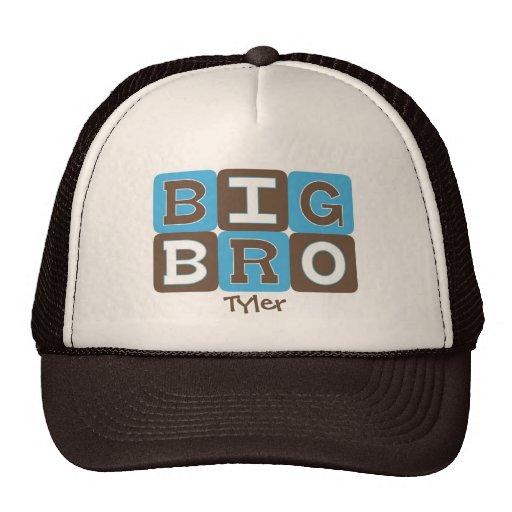 MOD Blocks Big Bro - Blue & Brown Personalized Hat