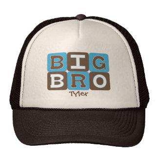 MOD Blocks Big Bro - Blue & Brown Personalized Trucker Hat